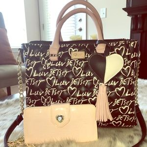 SOLD-Betsey Johnson Purse and Wallet